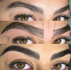 Thick Brows, Natural Eyebrows, Eyebrows Goals, Eyebrow Design, Henna Brows, Best Skincare Products, Microblading Eyebrows, Perfect Eyebrows, Makeup Tips For Beginners