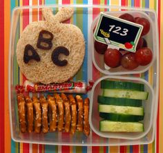 Cookie Cutter Lunch: A Bento Fit For A Kindergartener