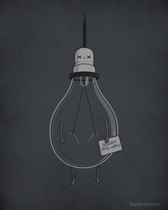 Goodbye, cruel world - Happy drawings :)
