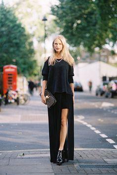 what-do-i-wear:    Poppy Delevigne, before Sass & Bide, London, September 2012. (image:vanessajackman)
