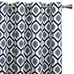 Ari drape option- Helsinki collection - Lined Curtain - Length Kids Curtains, Cool Curtains, Lined Curtains, Grommet Curtains, Blackout Curtains, Master Bedroom Redo, Home Decor Bedroom, Helsinki, Bouclair