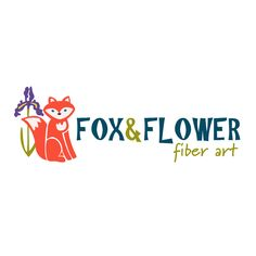 Day 4 of the #60x60x60LogoChallenge - Fox & Flower Fiber Arts  60 logos / 60 days / 60 minutes  #graphicdesign #logodesign #logo #smallbusiness #branding #marketing #illustration #entrepreneur