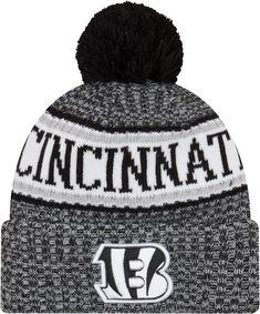 86b8941b52174f New Era Men s Cincinnati Sideline Cold Weather Reverse Black Sport Knit.  Miami Dolphins HatCold WeatherNew Era HatsNfl ShopWinter ...