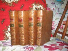 Roland Furieux  Arioste 4 vol Belle rel Plein Cuir 1780 Trad par Comte Tressant