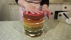 Rose Dummer who runs Rosie Cake-Diva, and who featured in this months Cake Masters magazine, shows how to make a Rainbow Layer Cake step by step