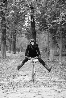 Muévete en bici por el Retiro, o por donde quieras. La bici te da libertad y muchas alegrías.