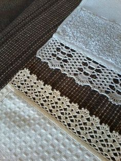 Super Crochet Patterns Stitches Granny S - Diy Crafts - Marecipe Crochet Edging Patterns, Crochet Lace Edging, Crochet Borders, Cotton Crochet, Filet Crochet, Crochet Flowers, Crochet Stitches, Diy Crafts Crochet, Crochet Projects