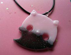 Pastel Goth Kawaii Jewelry Creepy Cute Ghost Kitty Cat