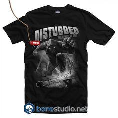 Disturbed T Shirt & Adult Unisex Size Band Tees, Hoodies, Sweatshirts, Graphic Tees, Unisex, Mens Tops, T Shirt, Free Shipping, Supreme T Shirt