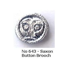 No 643 Anglo-Saxon Button Brooch Image