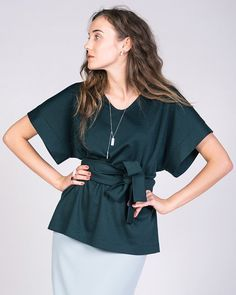Blouse Kimono - Named / Patron de couture                                                                                                                                                                                 Plus