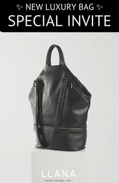 Hey Handbag Lovers! Just wanted to invite you to take a sneak peak at the new LLANA. Heres the info.  This new elegant & versatile bag can transition from workout, work, go out / perfect for city commuting or weekend getaways.  We handcraft this bag in New Zealand, use high-end NZ deer leather and even engineered a new interlining fabric / this is a true 'investment piece' that you can actually use daily.    Come try, get a sneak peak, and let us know what you think! www.shopllana.com