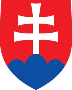 Coat of arms of Slovakia - Štátny znak Slovenska – Wikipédia Bratislava, Slovakia Flag, Cross Symbol, Warsaw Pact, National Animal, Central And Eastern Europe, Pattern Photography, Austro Hungarian, Prague Spring