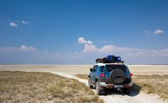 Photo blog of two friends and their road trip in northern Botswana