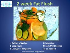 This yummy Grapefruit fat flush will help to detox your body from all the  toxins we