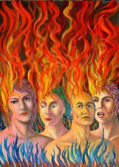 FLAMING PEOPLE