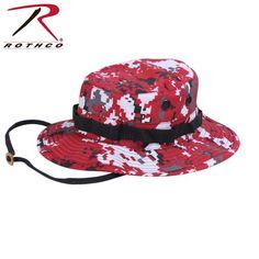 http://www.armynavyshop.com/prods/RTH-5411.html Rothco Boonie Hat - Digital Red Camo