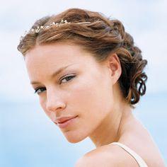 Image result for peinados novia con pelo corto
