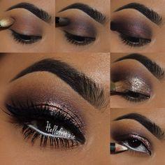Smoky Eye Makeup, Eye Makeup Steps, Eyeshadow Makeup, Matte Eyeshadow, Eyeshadows, Smokey Eye, Baddie Makeup, Male Makeup, Beauty Makeup