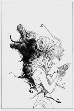 Cullen Bunn and Jeremy Haun offer a new twist on the traditional werewolf tale this December in the Vertigo-published 'Wolf Moon. Comic Book Artists, Comic Artist, Art Sketches, Art Drawings, Jae Lee, Werewolf Art, Type Illustration, Artsy Photos, Figure Sketching