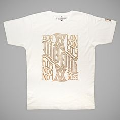 PS Gold Ambigram | T-Shirt | Victate