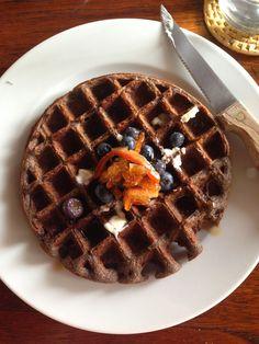 lemon vanilla buckwheat waffles are gorgeous, satisfying, and gluten-free.