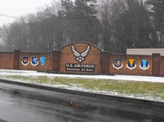 Ramstein Air Force base, Germany. This is where my military life began. My parents met and were wed here in the '70's.