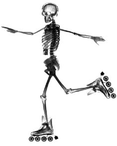 Just like this guy, rollerblading is dead.