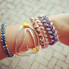 #armcandy #armparty #tecnica #wire e #bulloni #bolts #bracelets #summer2013 Arm Party, Bangles, Bracelets, Wire, Jewelry, Jewlery, Bijoux, Jewerly, Bracelet