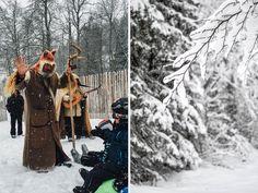 Skifahren lernen in LAAX mit dem Freund des Waldes und der Tiere, Ami Sabi. Den gibt es nur hier.