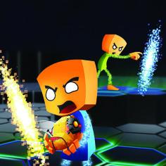Game hunters - Hot potato - portals - Video game