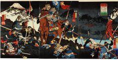 Battle of Kawanakajima.