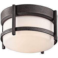 """Kichler Camden 10"""" Wide Ceiling Light - #M6146   LampsPlus.com"""
