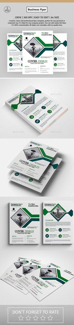 #Corporate #Flyer 60 - Corporate Flyers Download here: https://graphicriver.net/item/corporate-flyer-60/19299399?ref=alena994