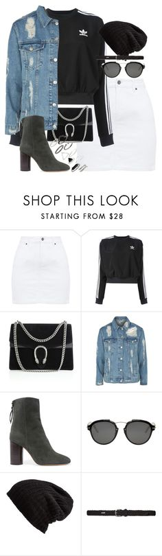 """""""Unbenannt #1070"""" by flytotheunknown ❤ liked on Polyvore featuring adidas, Gucci, Topshop, Isabel Marant, Christian Dior, Free People and Lauren Ralph Lauren"""