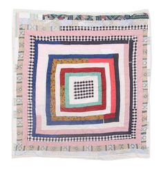 Gees Bend Pieced Quilt attributed ato Ella Pettway, seen at auction (sold)