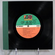 Led Zeppelin – Led Zeppelin IV journal made from the record. Want it!!!