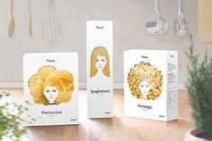 Geniale Verpackung für Pasta