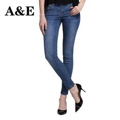 Alice & Elmer Stretch Skinny Jeans Woman Jeans For Girls Jeans Women Mid Waist Jeans Female Pants