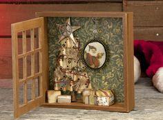 7gypsies Holiday Shadow Box - by Keri for 7gypsies