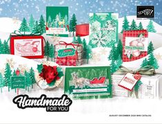 6 x 6 One Sheet Wonder Project with Share What You Love Specialty Designer Series Paper | Ellocin Designs Fun Fold Cards, Quick Cards, Folded Cards, Stampin Up, Stampin Pretty, Christmas Minis, Christmas Cards, Christmas Ideas, One Sheet Wonder
