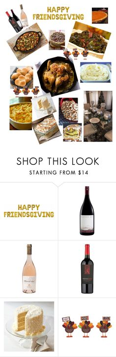 """""""Thanksgiving Dinner with Friends"""" by mikamik on Polyvore featuring Ultimate and Transpac"""
