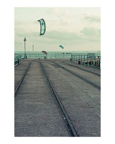 Art Photography photography art photographic photo colour faded retro british poe team kite seaside summer southend £14.95