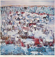 B-sides: Reidar Särestöniemi(Finnish, 1925-1981) frosted...