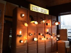 @cdwfestival 2015 @DYKEANDDEAN Lighting pick 'n' mix selections...