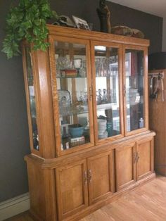 China Cabinet Edmonton Area Image 1
