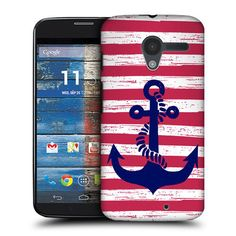 Head Case Designs Stripe Anchored Hard Back Case Cover for Motorola Moto X…