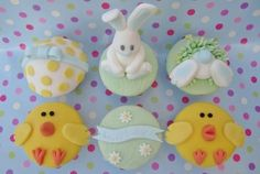 Easter cupcakes by mrs bakers cakes