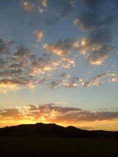 2013 sunset! Beautiful...