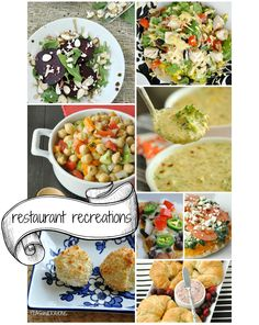[Restaurant Recreations] Copycat Recipes